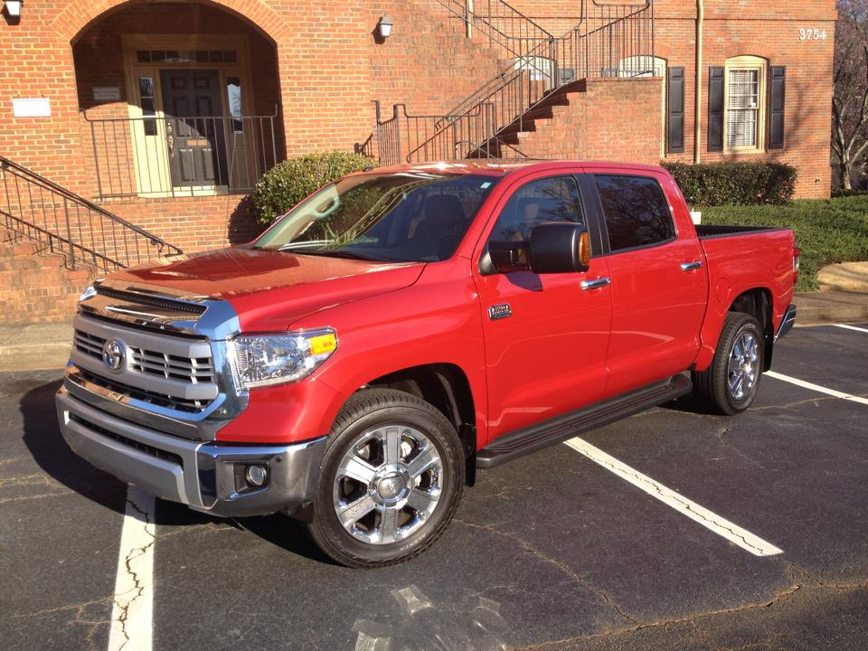 2014 Toyota Tundra CrewMax is an American car